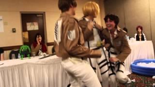 Anime Fusion 2013: SNK OR SWIM, Shingeki no Kyojin/Free! Iwatobi Swim Club panel
