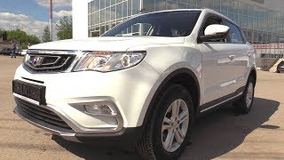 2018 Geely Atlas. Start Up, Engine, And In Depth Tour.