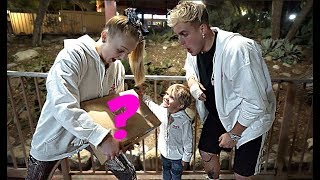 Jake Paul and Tydus SURPRISE JoJo Siwa with a SPECIAL PRESENT!!