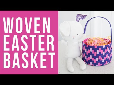 How to Make a Woven Easter Basket