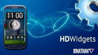 HD Widgets v3.9.5 para Android - Ponle estilo a tus pantallas