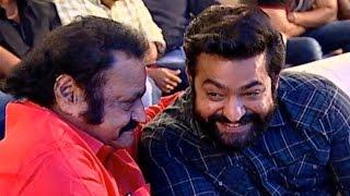 NTR & Harikrishna Fun Moments @ ISM Movie Audio Launch | TFPC