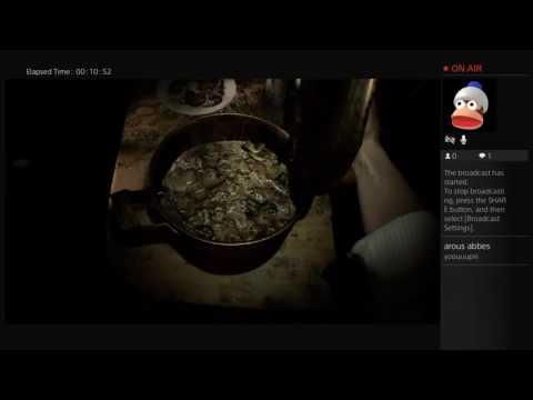 Let's play live - Resident Evil 7
