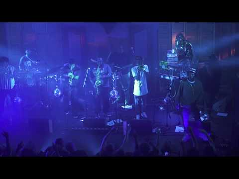 """Joey Bada$$ & The Soul Rebels - """"Save The Children"""" live in New Orleans House of Blues"""