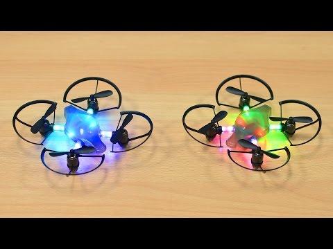 Первые в мире боевые дроны - квадрокоптеры Byrobot