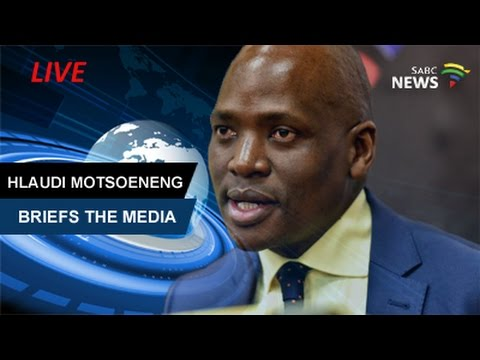 Former SABC COO Hlaudi Motsoeneng Addresses Media