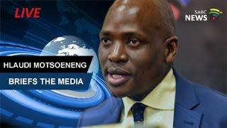 Former SABC COO Hlaudi Motsoeneng Addresses Media