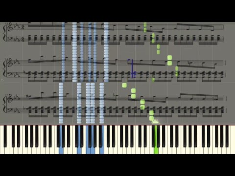 Beethoven - Symphony No. 5 - Piano tutorial (Synthesia) + Sheet Music