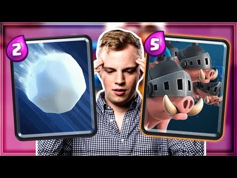Clash Royale - NEW CARDS! Royal Hogs & Giant Snowball Update