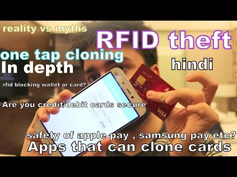 Apps that can clone your card at one tap !! RFID theft !! should you buy rfid blocking wallet ?