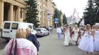 Парад НЕВЕСТ - 2013 в Минске! 15ч.(19). Беларусь! Parade of Brides - 2013 in Minsk!