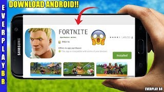 LAUNCHED FORTNITE FOR ANDROID!! (How to download and install) DOWNLOAD APK-OBB