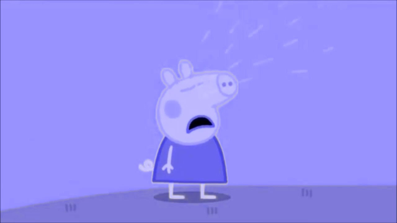Peppa Pig Is Crying Why Speed Up Slow Down Effects