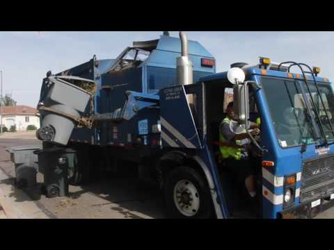 Republic and Dixie Waste Services St. George, UT part 2/2 with yard footage