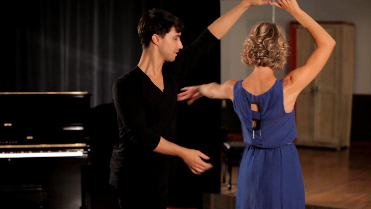 How To Do A Rumba Ladies Underarm Turn Ballroom Dance Youtube Waltz Steps Diagram