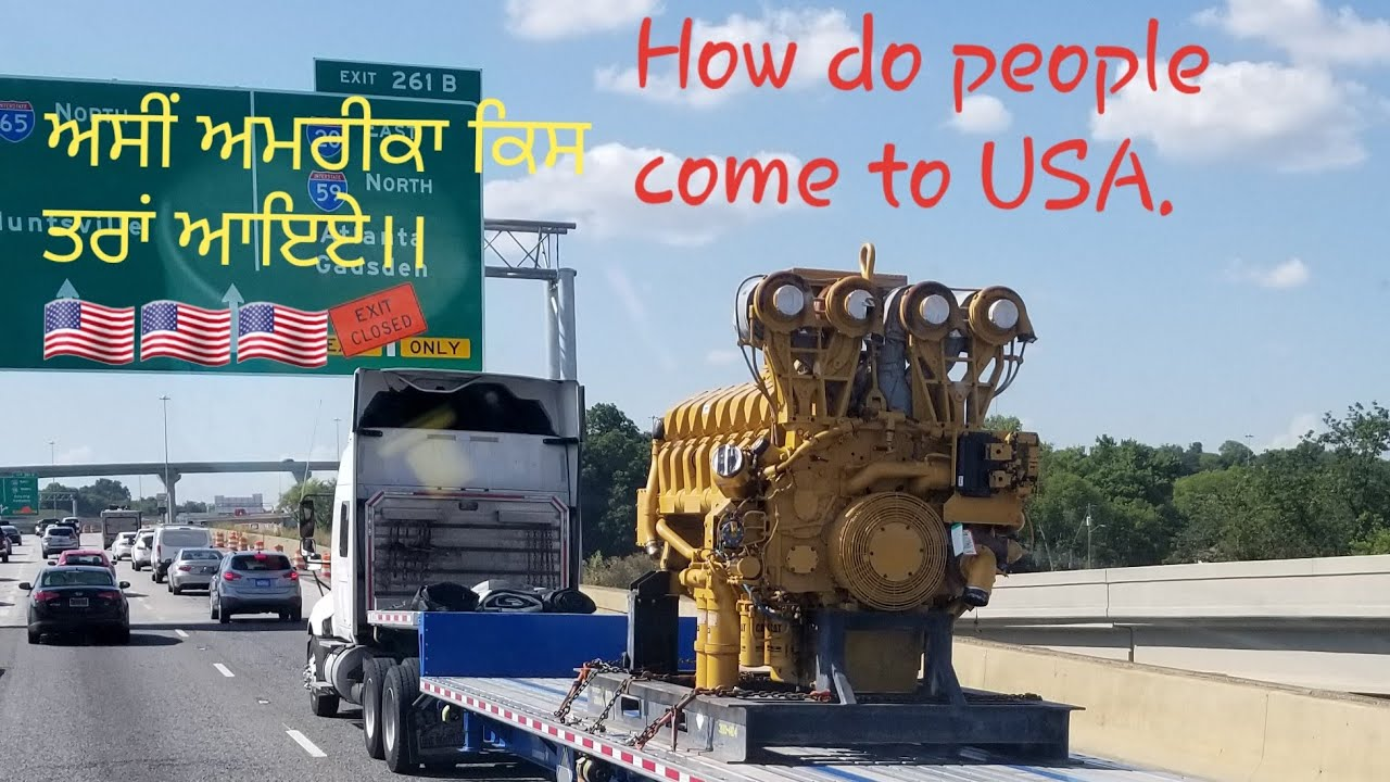 Is it possible to immigrate to US on Trucking bases ।।Punjabi truck Driver  USA।।