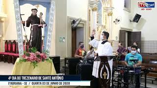 Reproduzir Quarta noite do Trezenário de Santo Antônio