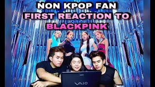 NON KPOP FAN FIRST TIME REACTION TO BLACKPINK KILL THIS LOVE.
