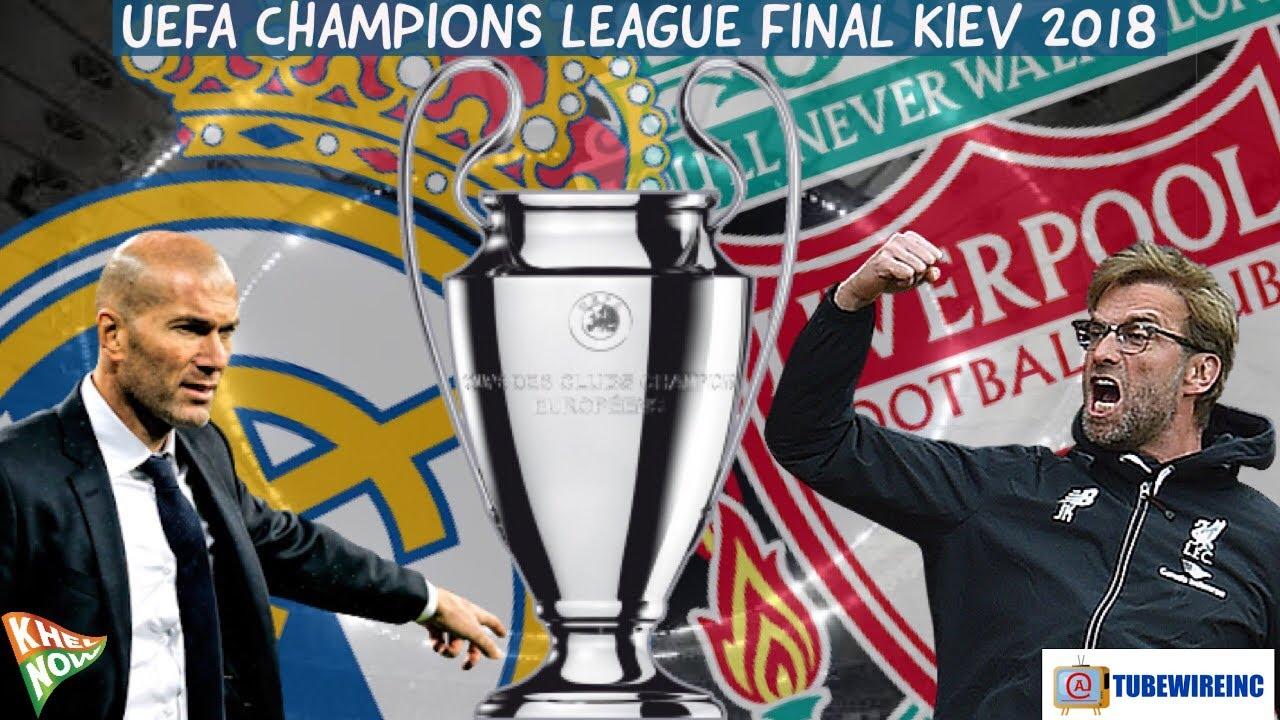 Real Madrid Vs Liverpool Uefa Champions League 2017 18 Final