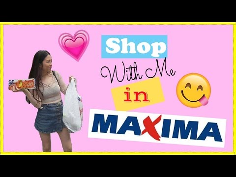Shop with me in Maxima