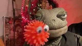 Die Echse über den Nikolaus und die Absage vom Weihnachtsmarkt