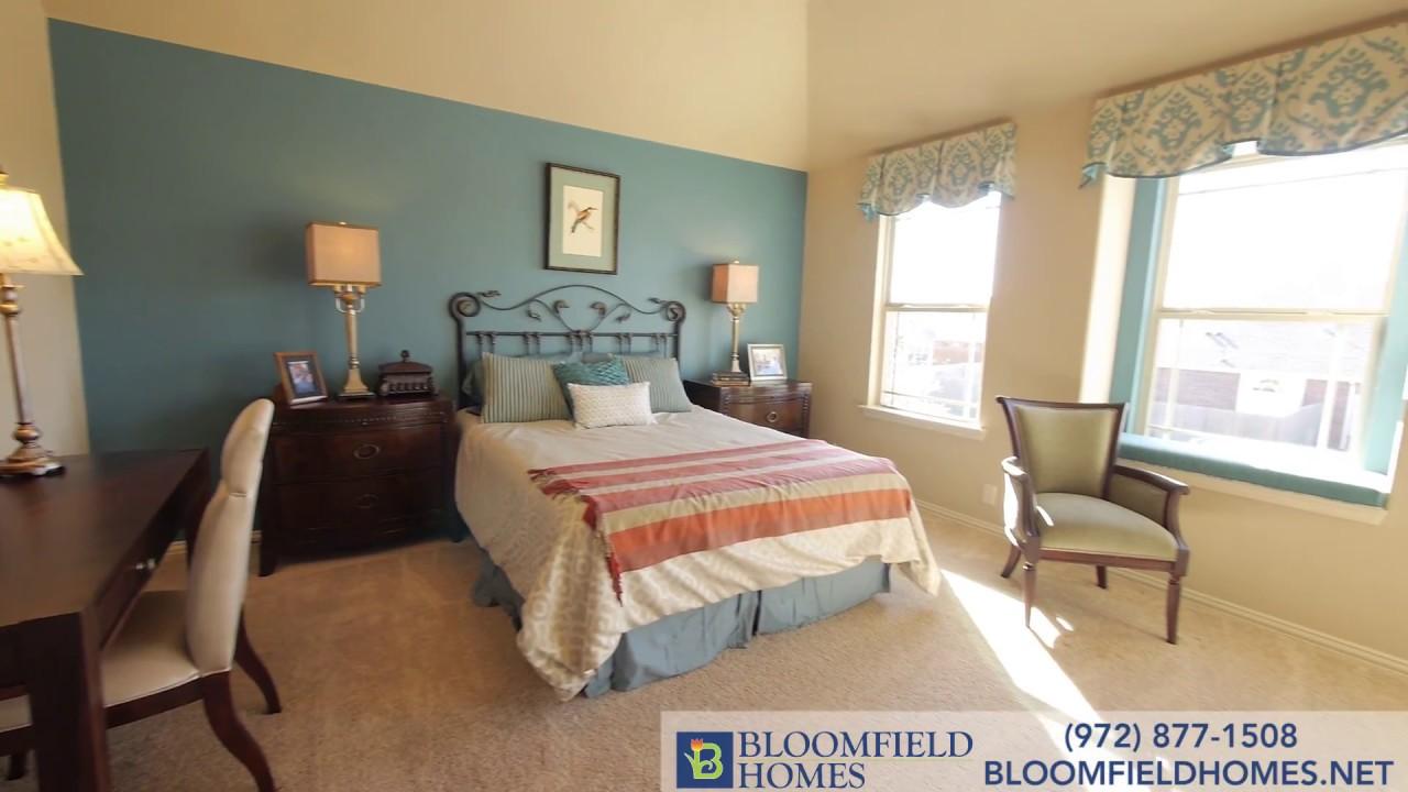 Carolina Floor Plan New Homes in DFW – Bloomfield Homes Floor Plans