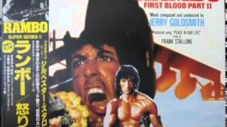 Jerry Goldsmith RAMBO: FIRST BLOOD PART II - Pilot Over