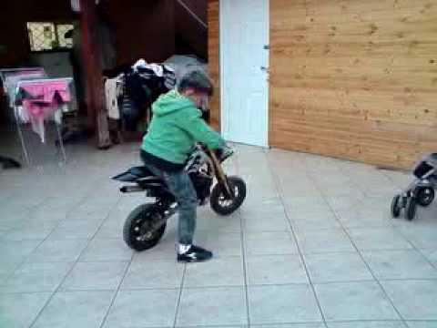 פנטסטי מיני בייק ירין בן 6עושה צלחות - YouTube XU-97