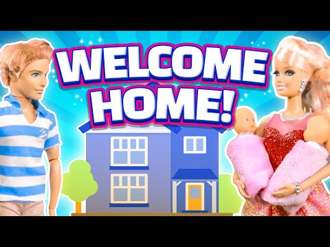 Barbie's Baby Part 5 - Welcome Home! | Ep.22
