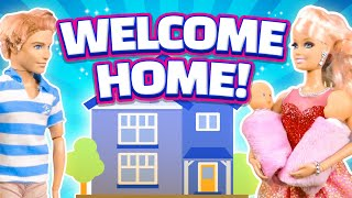 Barbie's baby part 5 - welcome home!