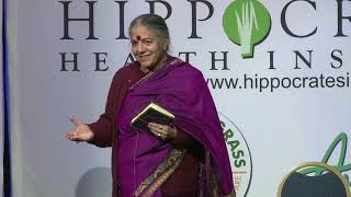 Towards a Healthy Planet, Healthy People; Poison Free Food & Farming by Vandana Shiva, Ph.D
