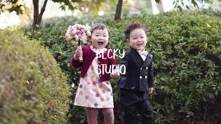 부산아기사진 베키스튜디오 주니어촬영스케치