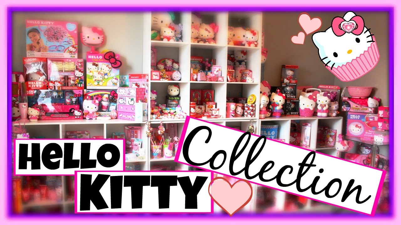 MY HUGE HELLO KITTY COLLECTION  YouTube
