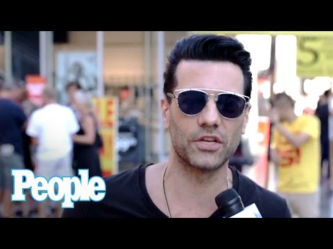 Criss Angel Teases 'Trick'd Up'  TV Special & Human Shish Kabob Trick | People NOW | People