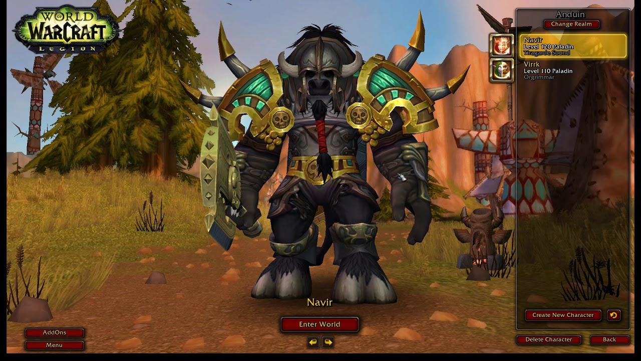 bfa wow character cant