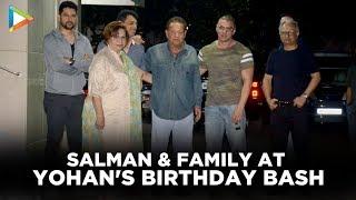 Salman Khan and Family at Sohail Khan's Son Yohan's Birthday Bash   Daisy Shah