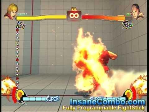 Street Fighter 4 Ken - Shoryuken