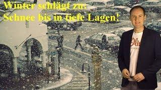Schnee und Frost bis in tiefe Lagen: Jetzt wird´s winterlich! (Mod.: Dominik Jung)