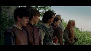 The pevensie siblings return to narnia, where they are enlisted once again help ward off an evil king and restore rightful heir land's throne, ...
