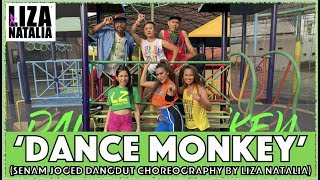 Download lagu Dance Monkey | Liza Natalia | Senam & Joged POP Choreography | Tones & I