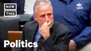 Jon Stewart Goes Off on Congress Over 9/11 First Responders Fund | NowThis