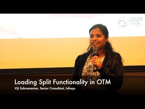 Loading Split Functionality In Oracle OTM By Viji Subramanian