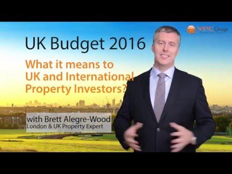 UK Budget 2016 - A Property Investors Perspective