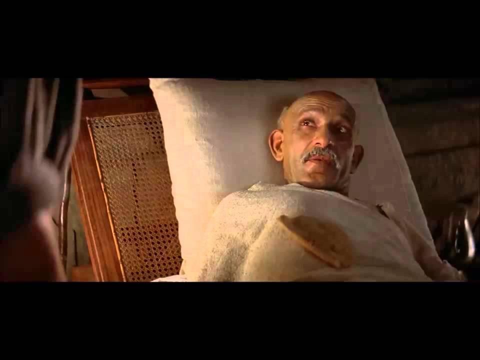 Gandhi end of fasting - YouTube