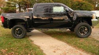 2013 Chevy Silverado 1500 Rocky Ridge Black Phantom Lifted Truck For Sale