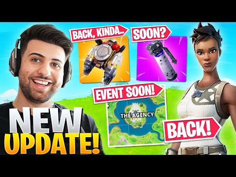 EVERYTHING Epic DIDN'T Tell You In The NEW Update! (Jetpacks, Recon Expert + MORE!) - Fortnite