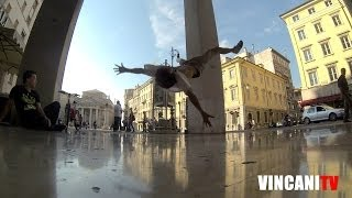 How to Breakdance | Flare to Air Flare | Fal Crow Skills (Italy)