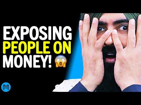 Talking Money In San Francisco & BURNING MONEY ON CAMERA?! Test Your Financial Literacy
