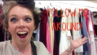 FOLLOW ME AROUND- THRIFT STORE ADVENTURE!