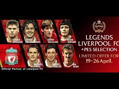 PES 2018: MYCLUB - Volta legends Liverpool BALL OPENING!